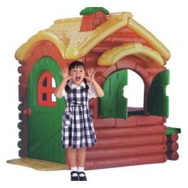 Domek plastikowy zielony