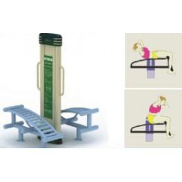 Urządzenie fitness - ławeczka